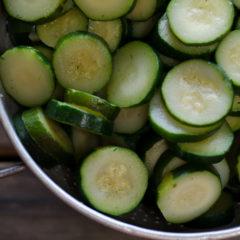 Sliced Zucchini (8 lbs)